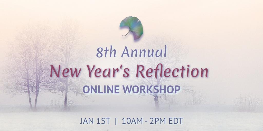 Website Event banner - New Year's Reflection Workshop ONLINE – 3 2021 (1)