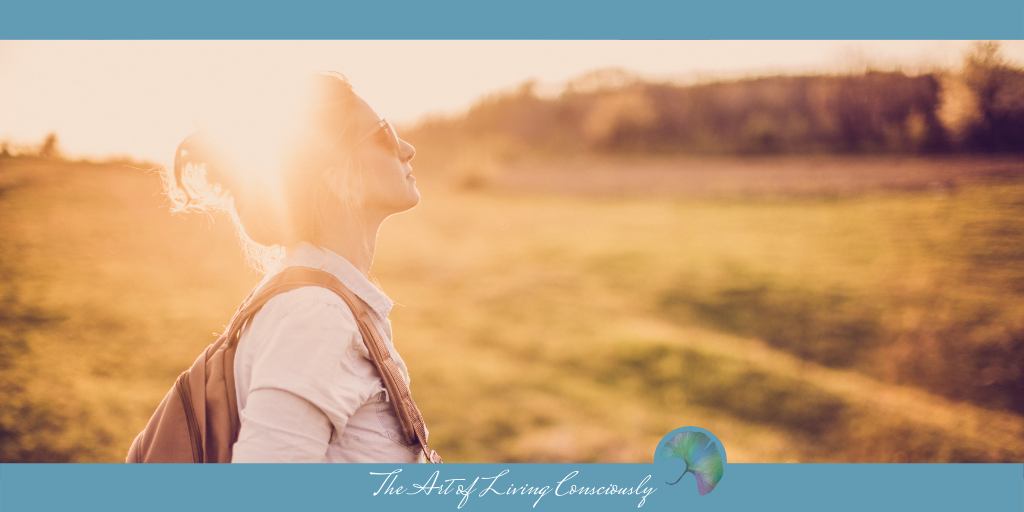 Minding Your Own Business Taking Up Space - The Art of Living Consciously - Blog Rectangle Images